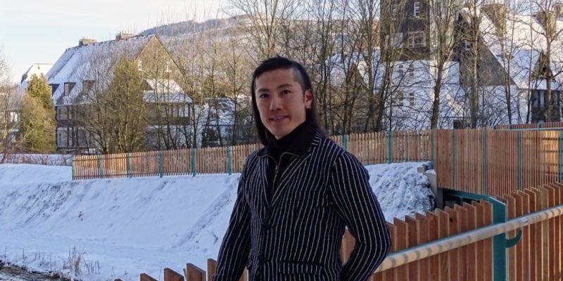Hayato during winter break in Olsberg